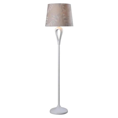 Kenroy Home Parfume 59 in. White Floor Lamp