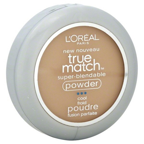 L'Oreal True Match Super-Blendable Powder, Cool, Creamy Natural C3, 0.33 oz (9.5 g)