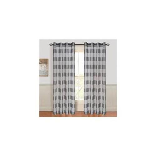 Lavish Home Sofia Grommet Curtain Panel