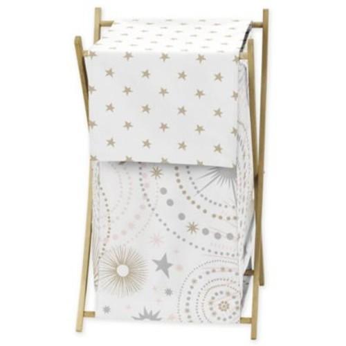 Sweet Jojo Designs Celestial Laundry Hamper in Pink/G