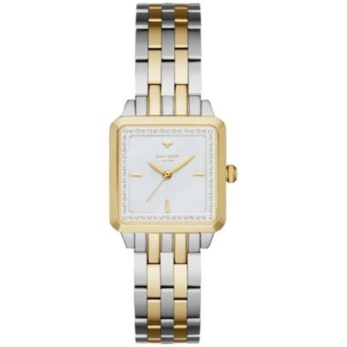 kate spade new york Women's Washington Square Two-Tone Stainless Steel Bracelet Watch 25mm KSW1168