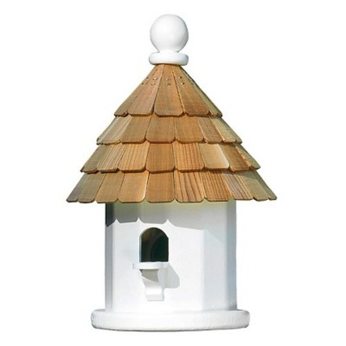 Lazy Hill Farm Designs Back Porch Wren Bird House - White