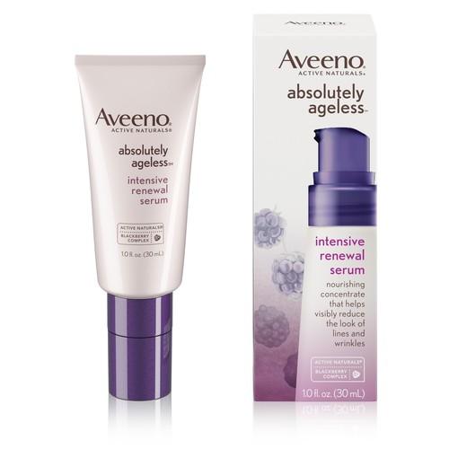 Aveeno Absolutely Ageless Intensive Anti-Aging Renewal Serum - 1 fl oz