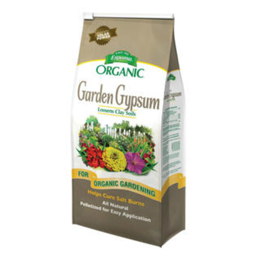 Espoma GG36 Garden Gypsum Organic Fast Acting Soil Conditioner, 36 Lbs