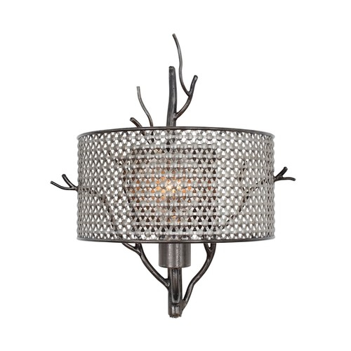 Varaluz Treefold 1-light Steel Wall Sconce