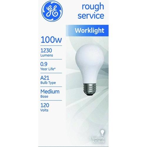 Satco A21 Incandescent Rough Service Light Bulb - S3935