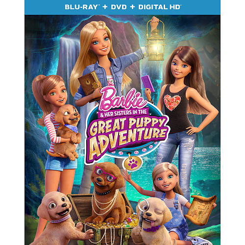 Barbie: Barbie and Her Sisters in the Great Puppy Adventure Blu-ray (Blu-Ray/DVD/Digital HD)