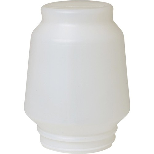 Miller Manufacturing 666 1-Gallon Jar Feeder and Waterer [White]
