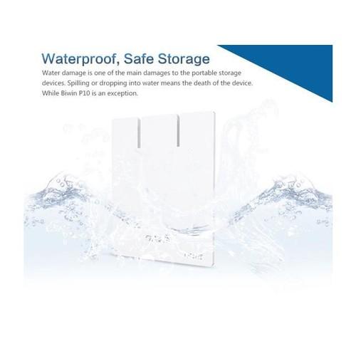 Biwin 128GB Lightning SATA III USB3.0 Mini Ultra-slim Customize Portable SSD with SIP Technology Waterproof Mobile Solid State Drive