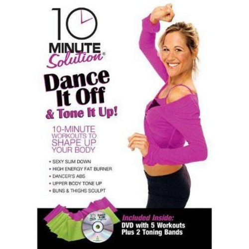 10 Minute Solution: Dance It Off and Tone It Up! (With 2 Toning Bands) (dvd_video)