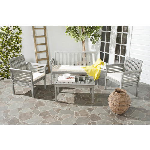 Safavieh Carson 4 PC Outdoor Patio Set