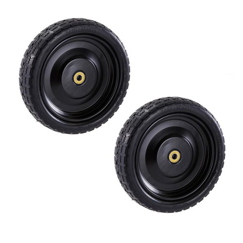 Gorilla Carts 13 in. No Flat Replacement Tire for Gorilla Carts (2-Pack)