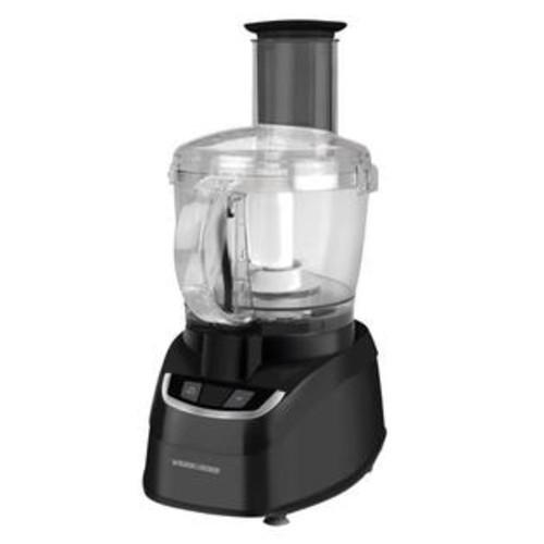 BLACK+DECKER FP1600B Food Processor, Black, 8 Cup
