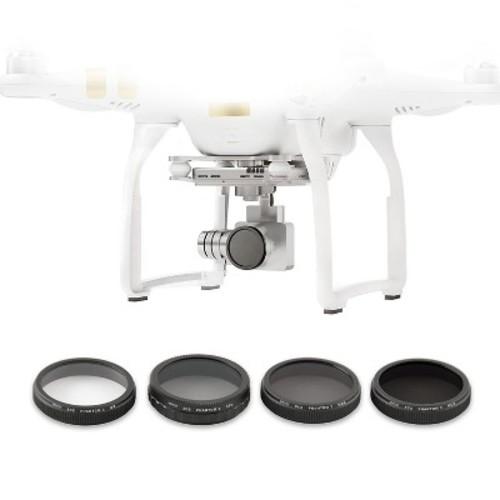 Bower Sky Capture Phantom Filter Kit - Black (SCS-FK4PH)
