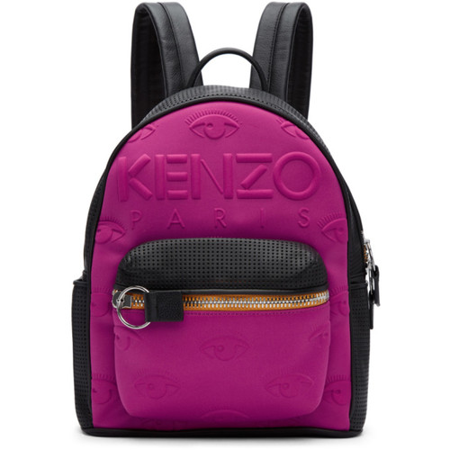 Pink & Black Kombo Backpack