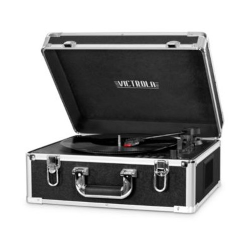 Victrola Suitcase Record Player With CD Player And Bluetooth
