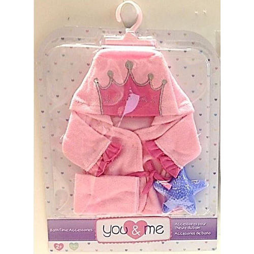 You & Me 12-14 inch Baby Doll Bath Time Accessories - Princess