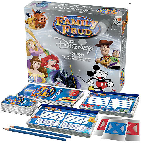 Cardinal Games Disney Family Feud Game