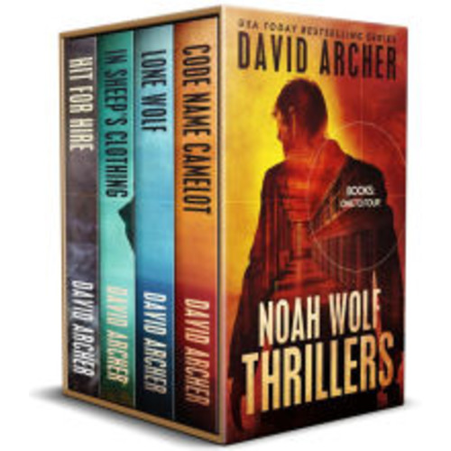 Noah Wolf Thrillers: Books 1 - 4 (Noah Wolf Boxed Set, #1)
