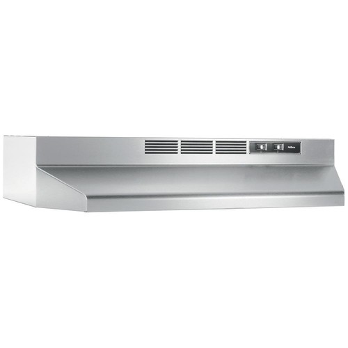 NuTone 30 in. Non-Vented Range Hood in Stainless Steel