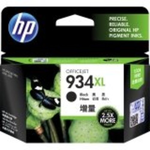 HP 934XL, (C2P23AN) High Yield Black Original Ink Cartridge