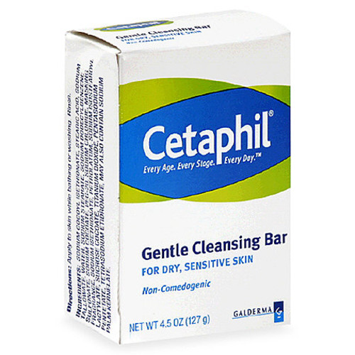 Cetaphil 4.5 oz. Cleansing Bar for Dry Sensitive Skin