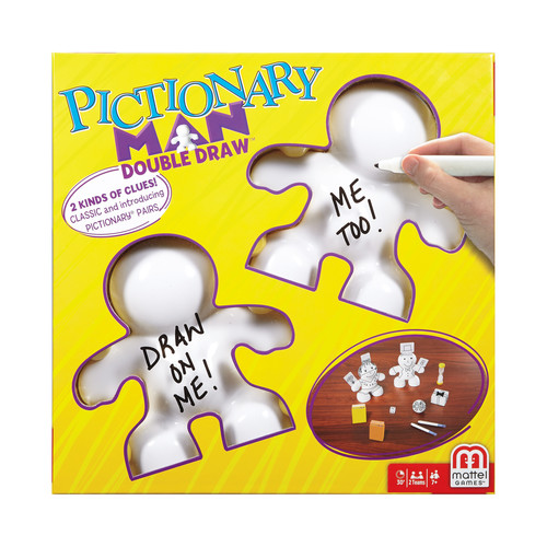 Mattel Pictionary Man Double Draw