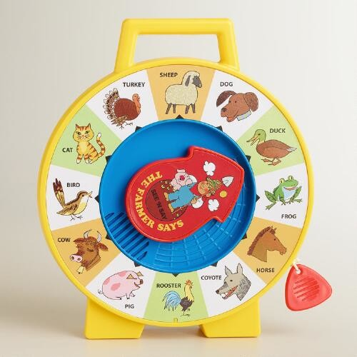 Fisher Price Retro See N Say Farmer Says