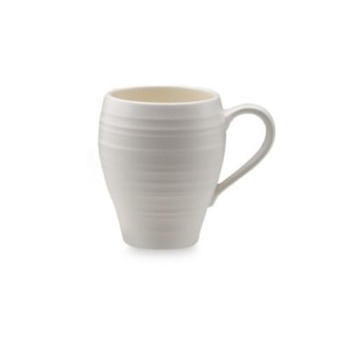 Mikasa Swirl Mug in White
