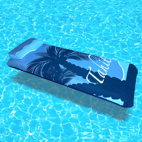 Blue Wave 76-In Inflatable Pool Mattress