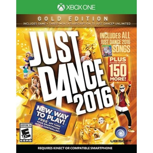 Just Dance 2016 Gold Edition Xbox One