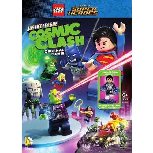 LEGO DC Comics Super Heroes: Justice League - Cosmic Clash (With Figurine) (dvd_video)