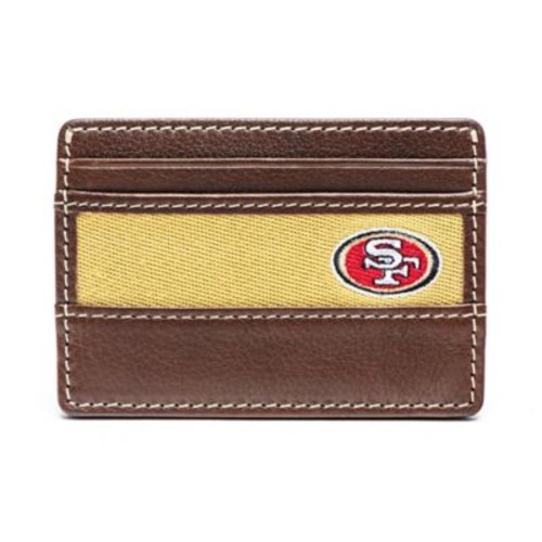Jack Mason NFL San Francisco 49ers Stadium ID Card Case in Brown