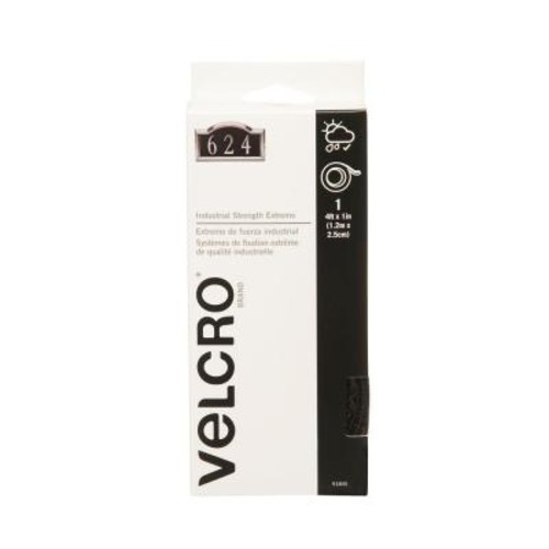 VELCRO Brand 4 ft. x 1 in. Black Industrial Strength Extreme Tape