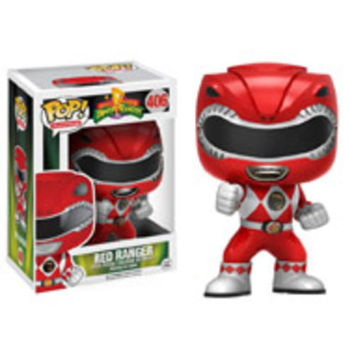 POP! TV: Power Rangers - Red Ranger (Action)