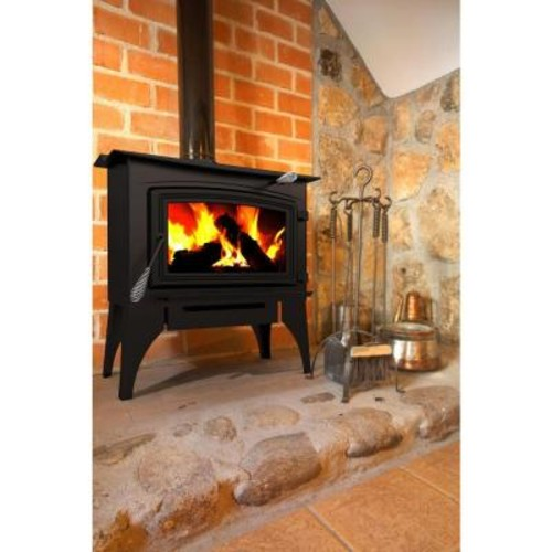 Pleasant Hearth 1,800 sq. ft. EPA Certified Wood-Burning Stove