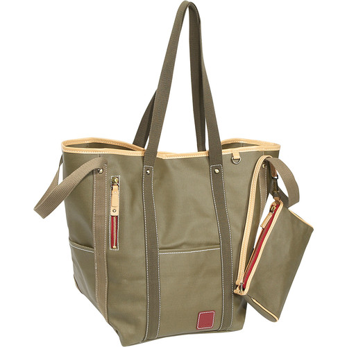 Clava Carina Two-Face Tote [Army]