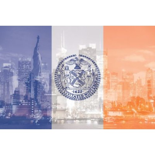 The Big Apple - New York City - An Architectural Dazzle Photographic Print on Wrapped Canvas