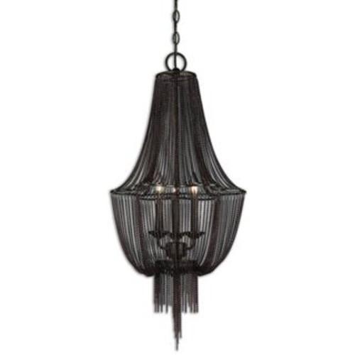 Whitney Black Ceiling Lamp