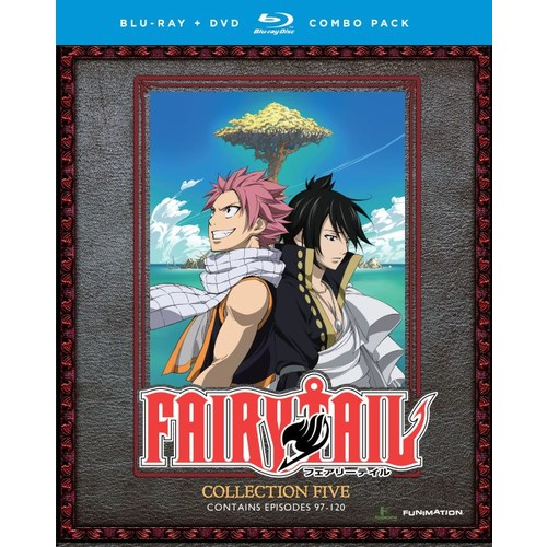 Fairy Tail: Collection Five [Blu-ray/DVD] [8 Discs]