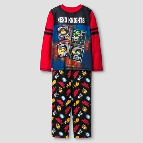 Boys' LEGO Nexo Knights Pajama Set - Black
