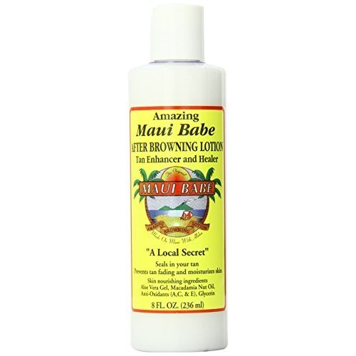 Maui Babe After Browning Tanning Lotion 8 Ounces [8 oz, single pack]