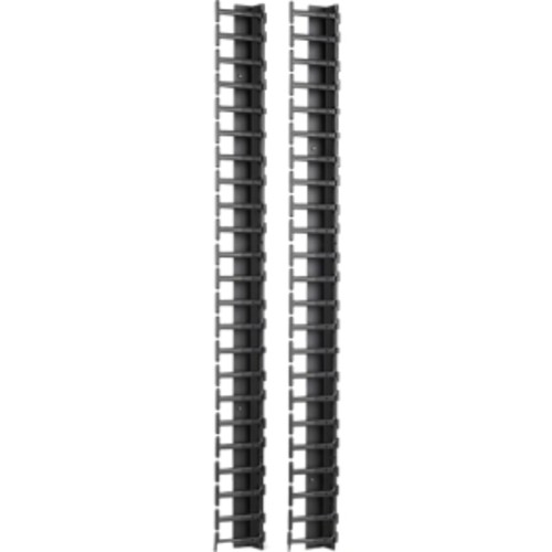 APC by Schneider Electric Vertical Cable Manager for NetShelter SX 600mm Wide 42U (Qty 2)
