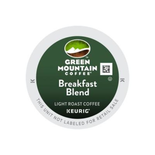 Keurig Kcup Pack Green Mountain Breakfast Blend Coffee 108 Count