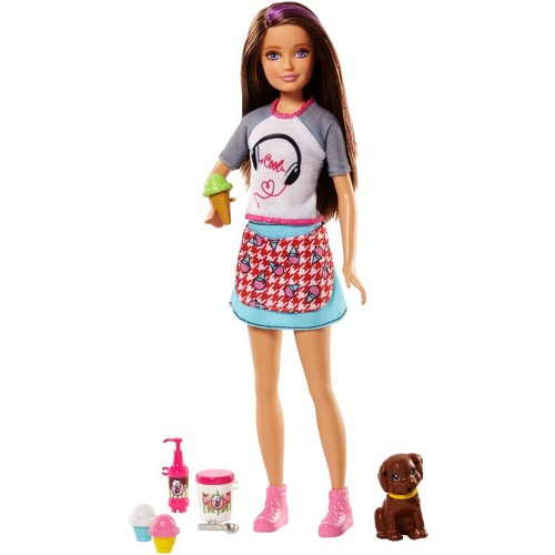 Barbie Sisters Doll with Puppy - Skipper