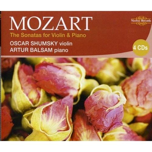 Mozart: The Sonatas for Violin & Piano [CD]