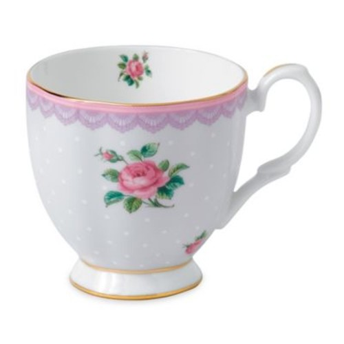 Royal Albert Candy Love Lilac Vintage Mug