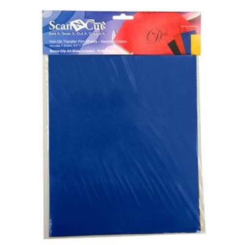 Brother Iron-On Transfer Film Sheets, 4/Pack (CATFM01)