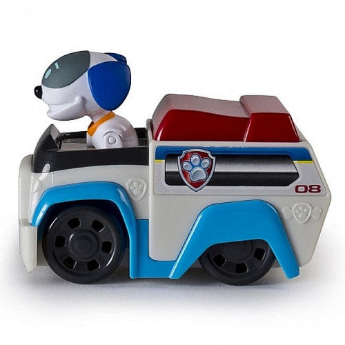 Paw Patrol Racers Robo Dog Figure and Vehicle