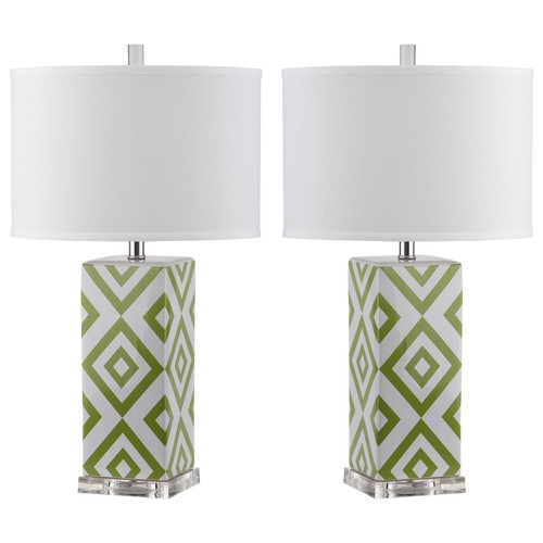 Safavieh Diamonds Table Lamp (Set Of 2)